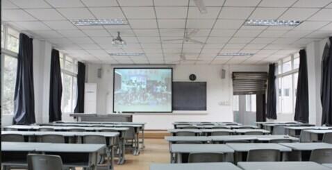 拓成牌多媒体讲台教室案例